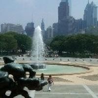 A quiet summer morning in Philadelphia - Howard Nelson